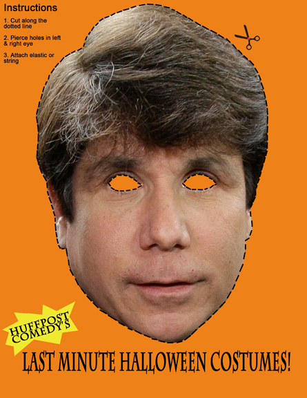 A Rod Blagojevich Mask? Get Your Last Minute Halloween Costume ...