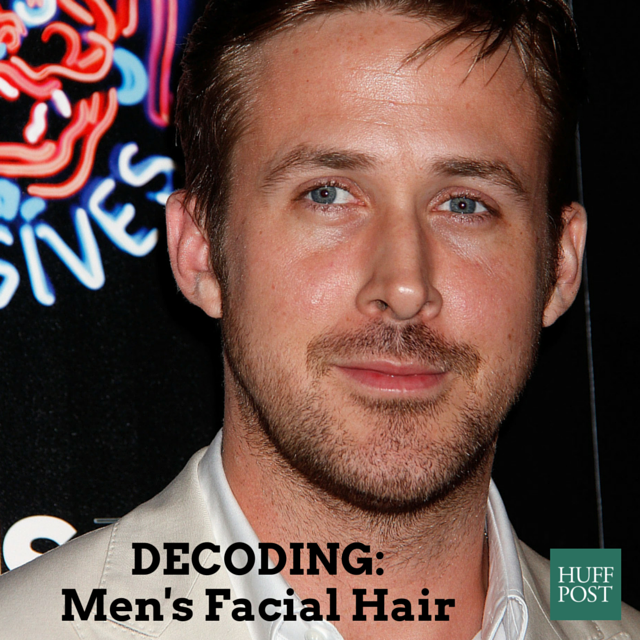 man's facial hair