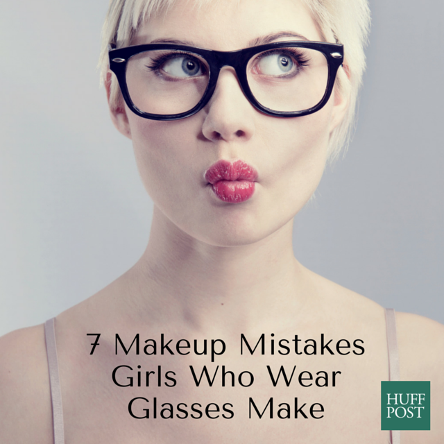 7 essential makeup tips for girls who wear glasses huffpost life