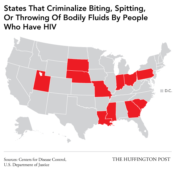 State Criminal Statutes on HIV Transmission