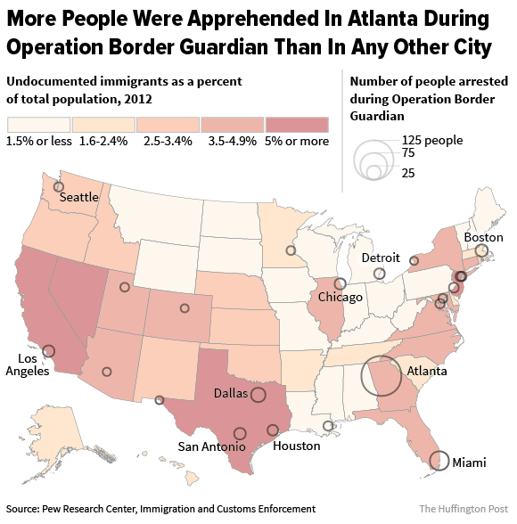 Here's Why Atlanta Is One Of The Worst Places To Be An Undocumented Immigrant