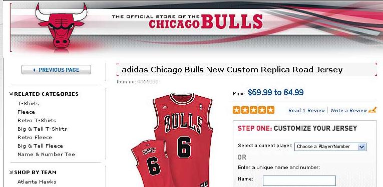 big sale fa808 7c97e LeBron James Bulls Jerseys Were On Sale At NBA Store | HuffPost