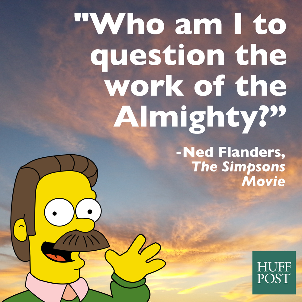The Remarkable Spiritual Wisdom Of Ned Flanders From 'The
