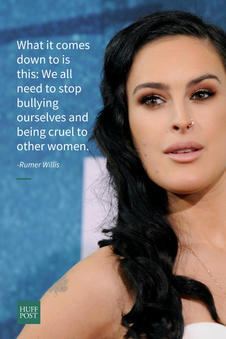 rumer willis we all need to stop bullying ourselves the rumer
