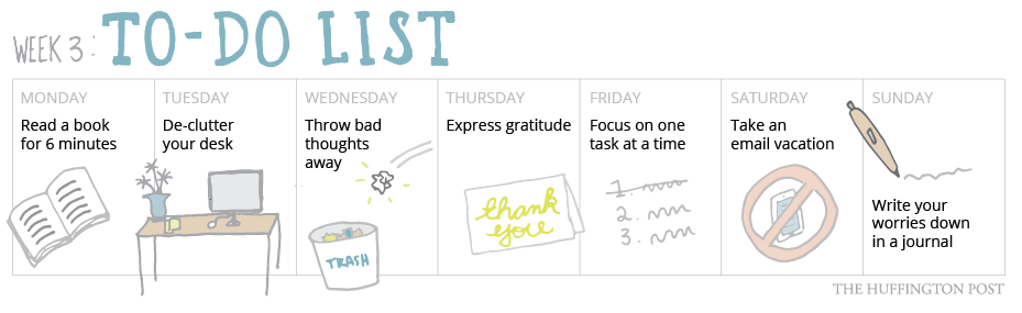 7 ways to feel less stressed by revamping your to do list huffpost