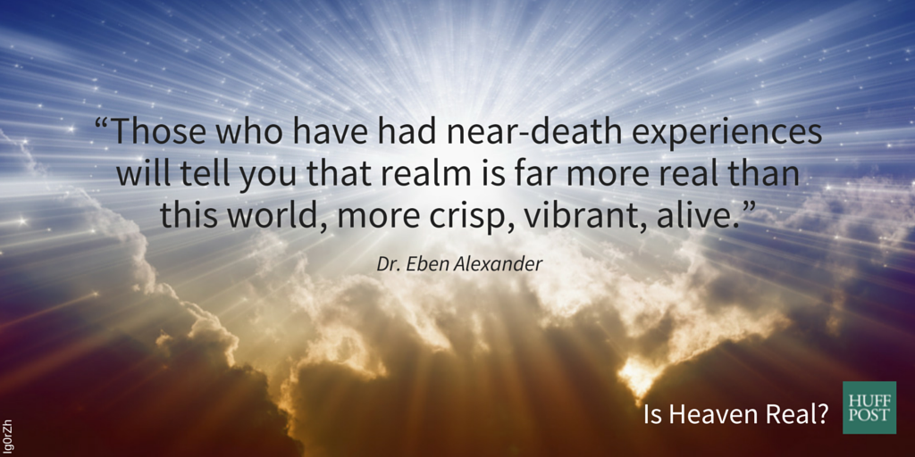 takeaways about near death experiences and heaven huffpost