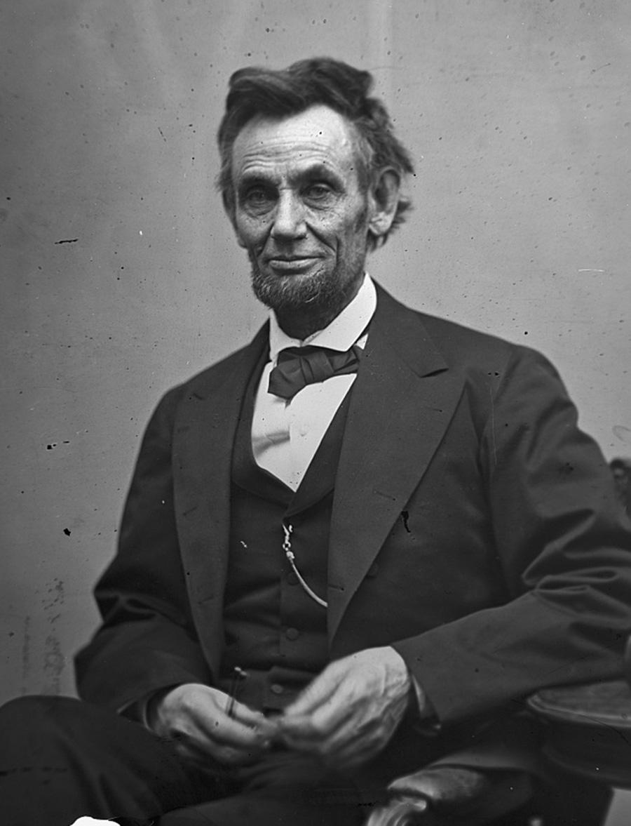 Abraham Lincoln, June 3, 1860. : ColorizedHistory