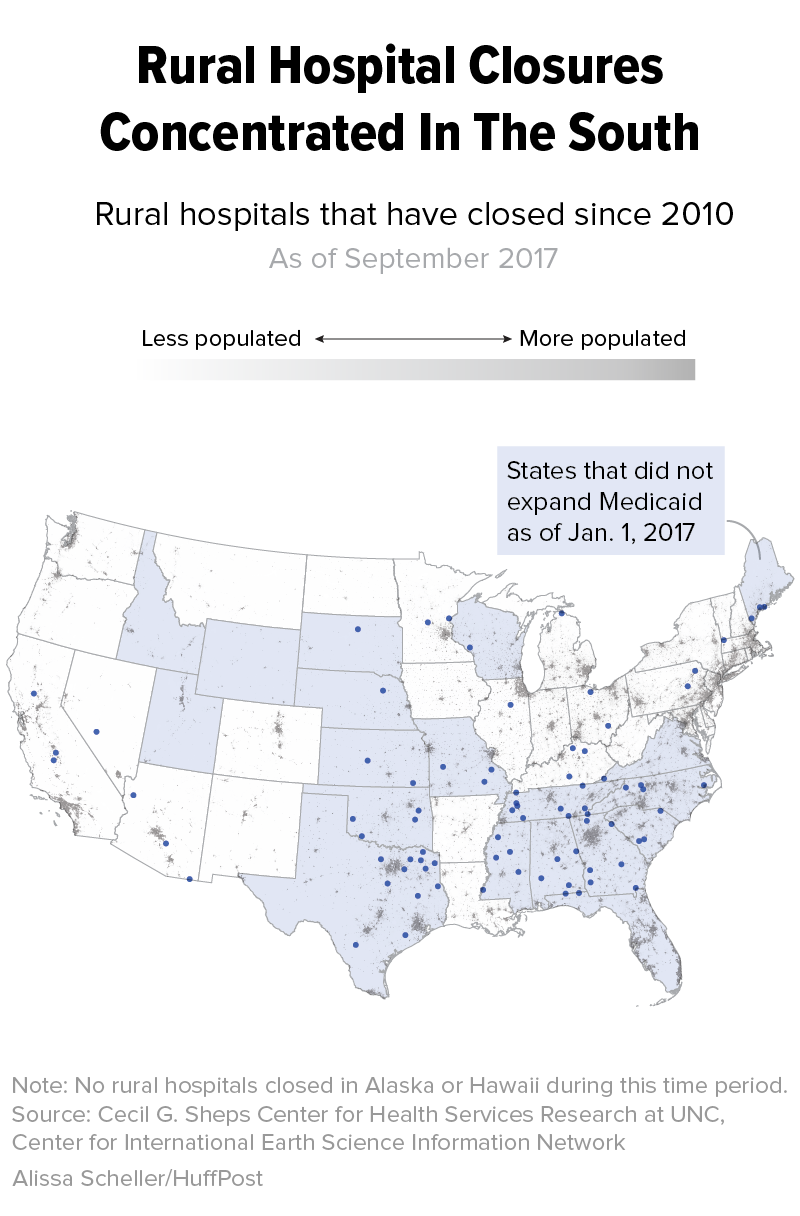 Map Of Georgia Hospitals.A Hospital Crisis Is Killing Rural Communities This State Is