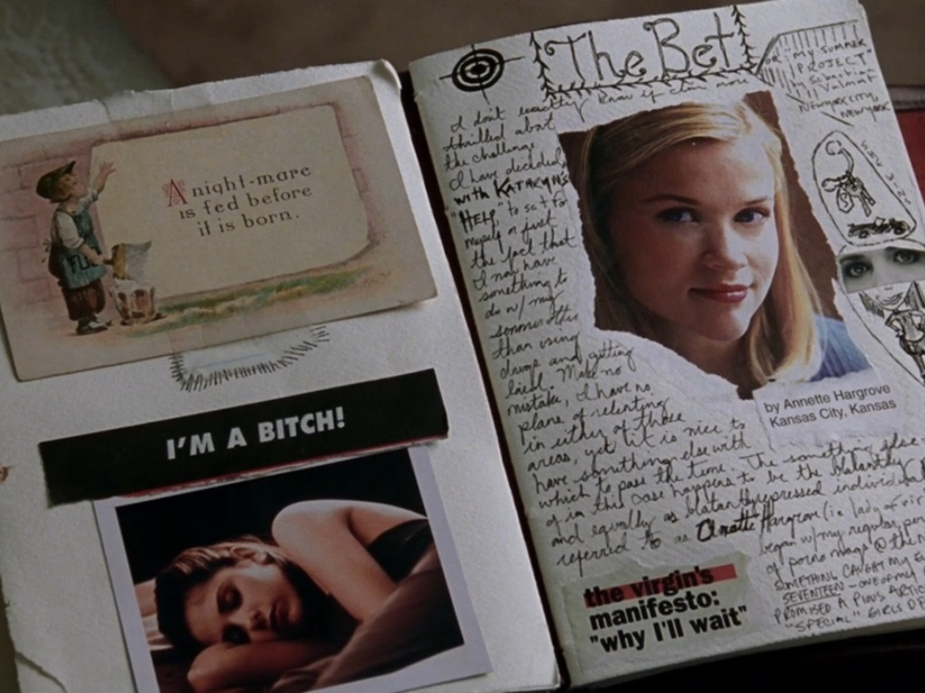 Image result for cruel intentions journal