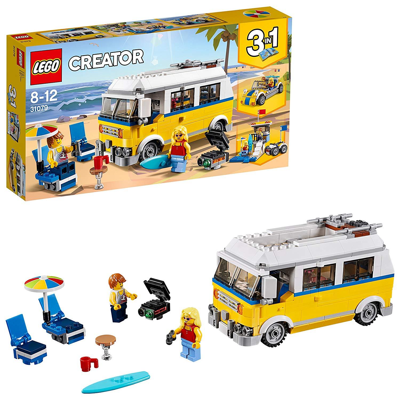 Lego Creator  - Le van des surfers