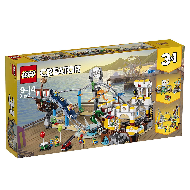Lego Creator  - Les montagnes russes des pirates