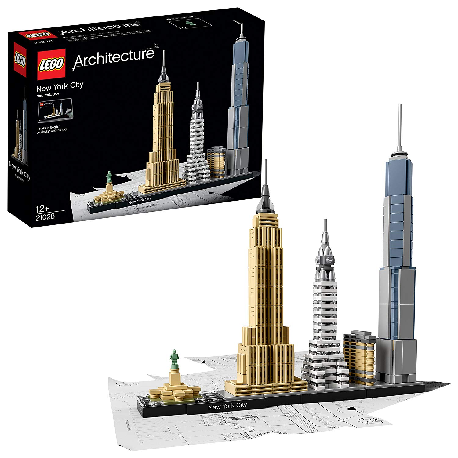 Lego Skyline - New York City