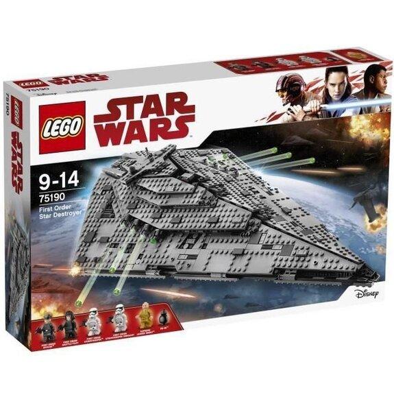 Lego Star Wars - Le destroyer interstellaire du Premier Ordre