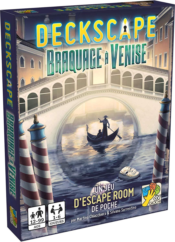 Deckscape- Braquage à Venise