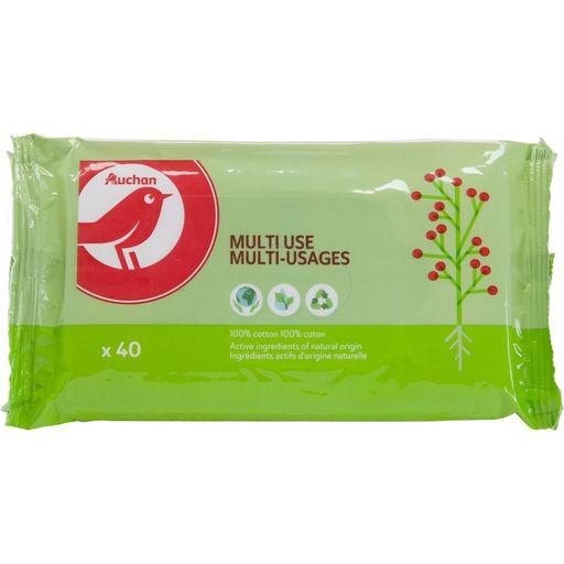 Lingettes Auchan multi-usages