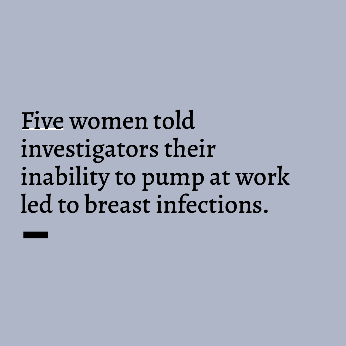 Westlake Legal Group 5d82639ee4b070d468c5c4f0 How Employers Make It Impossible For Working Women To Breastfeed