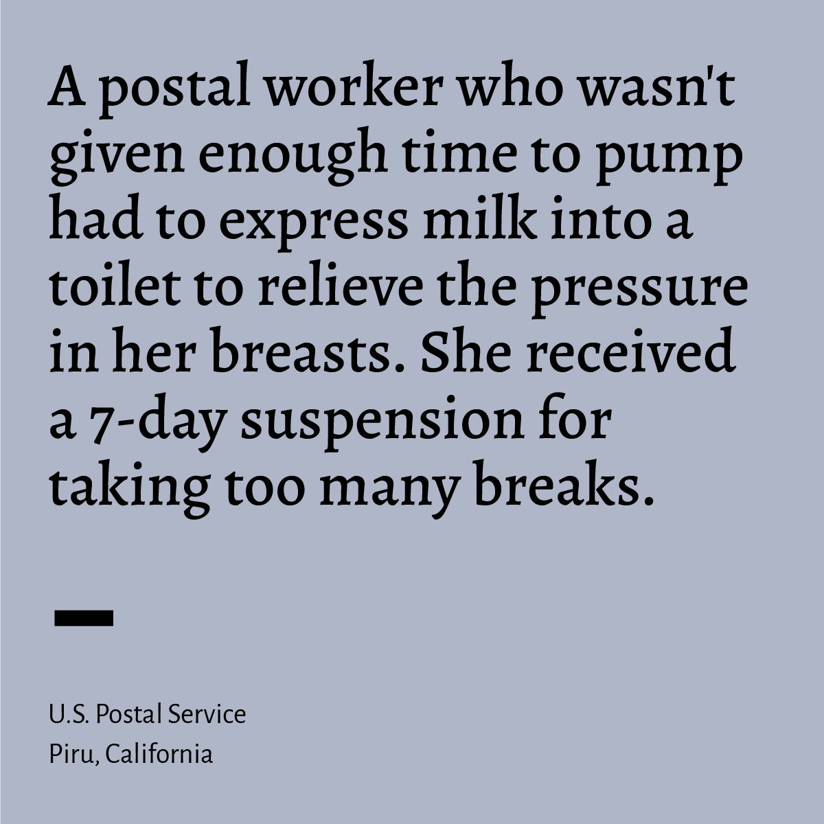 Westlake Legal Group 5d82639ee4b0957256afff75 How Employers Make It Impossible For Working Women To Breastfeed