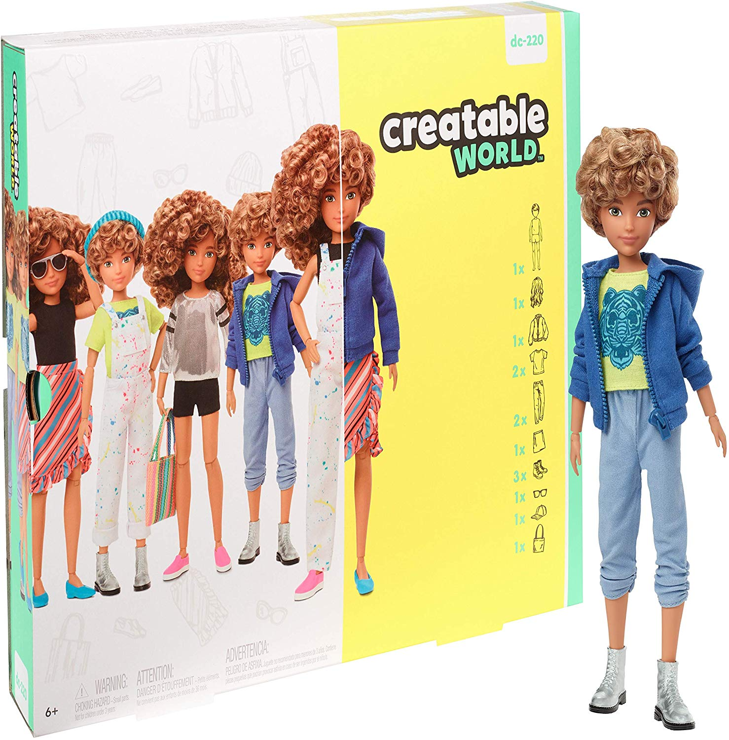 Poupées Mattel Creatable World