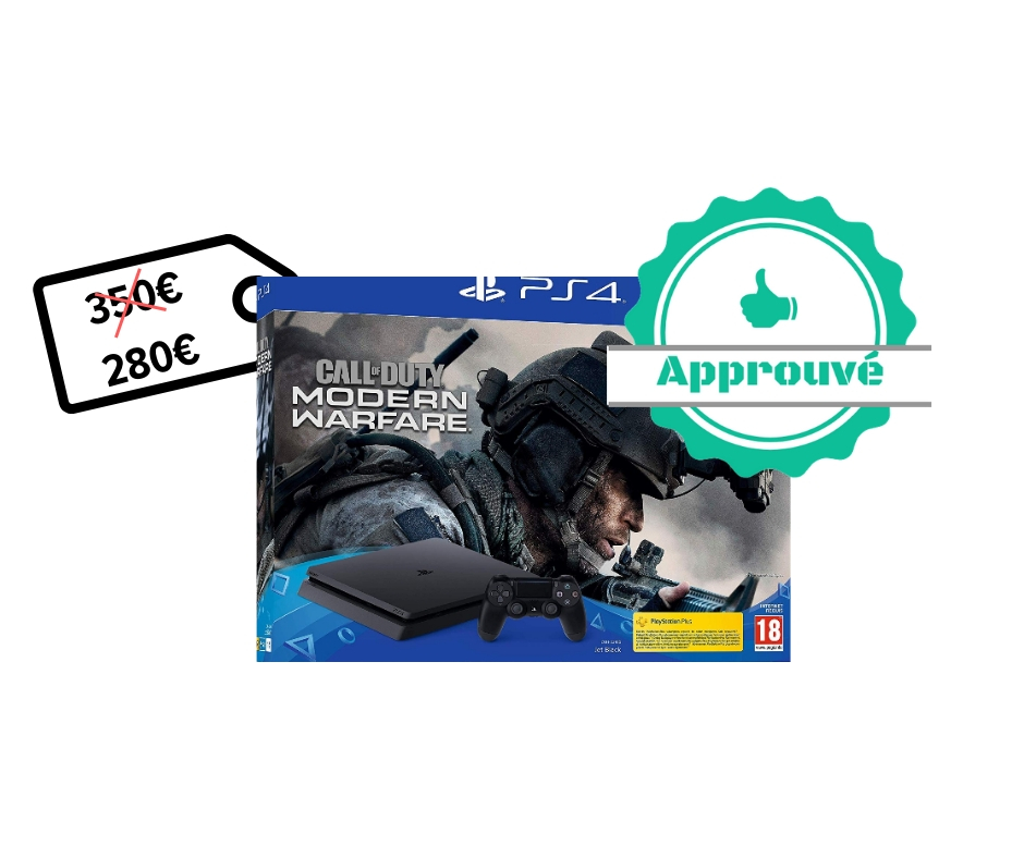 Pack PS4 Slim 1 To +