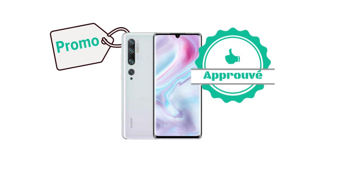 Promo certifiée - Xiaomi Mi Note 10