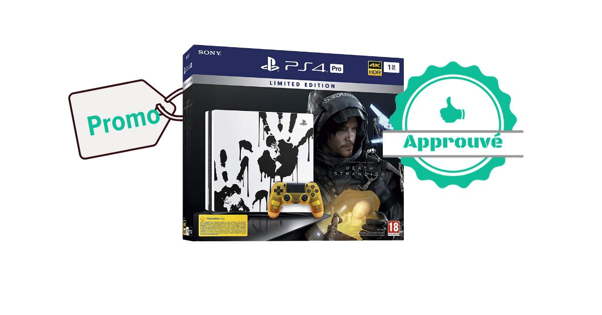 Promo certifiée - PS4 Pro 1 To édition spéciale +