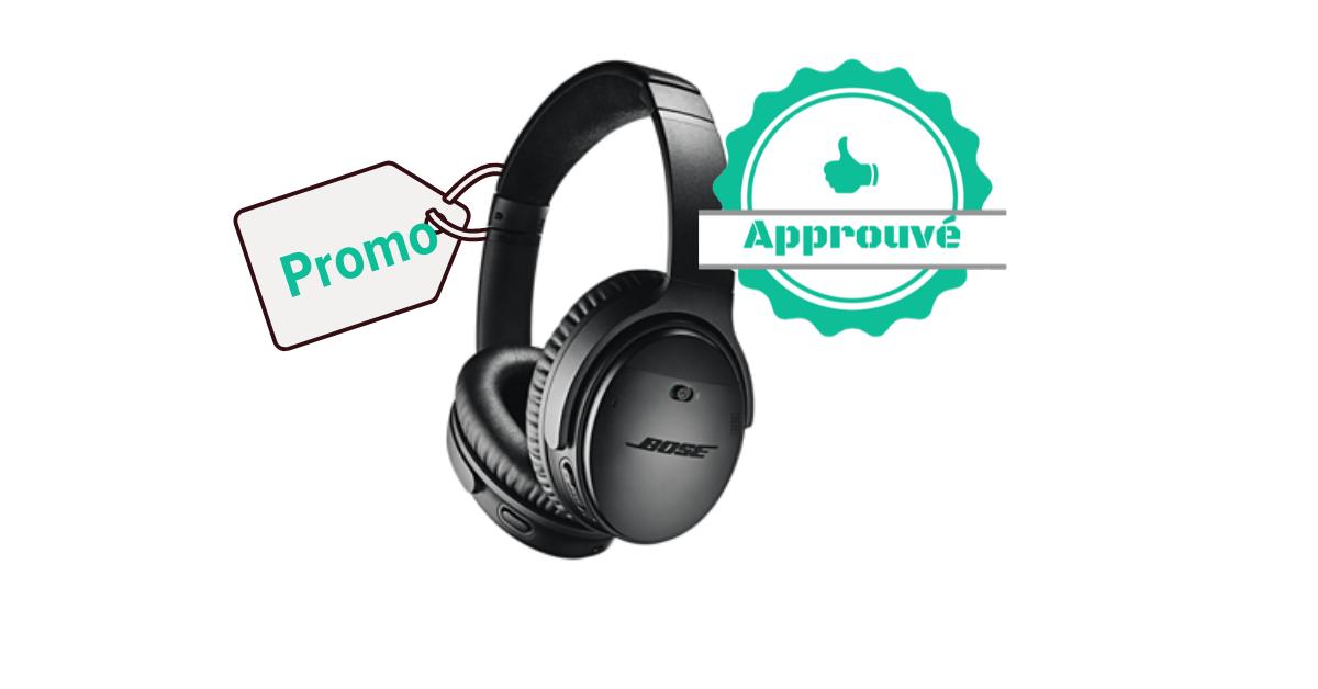 Promo certifiée - Bose QuietComfort 35 II