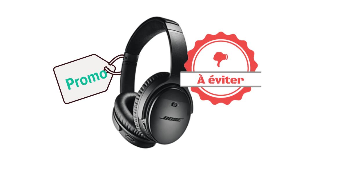 Promo à éviter - Bose QuietComfort 35 II