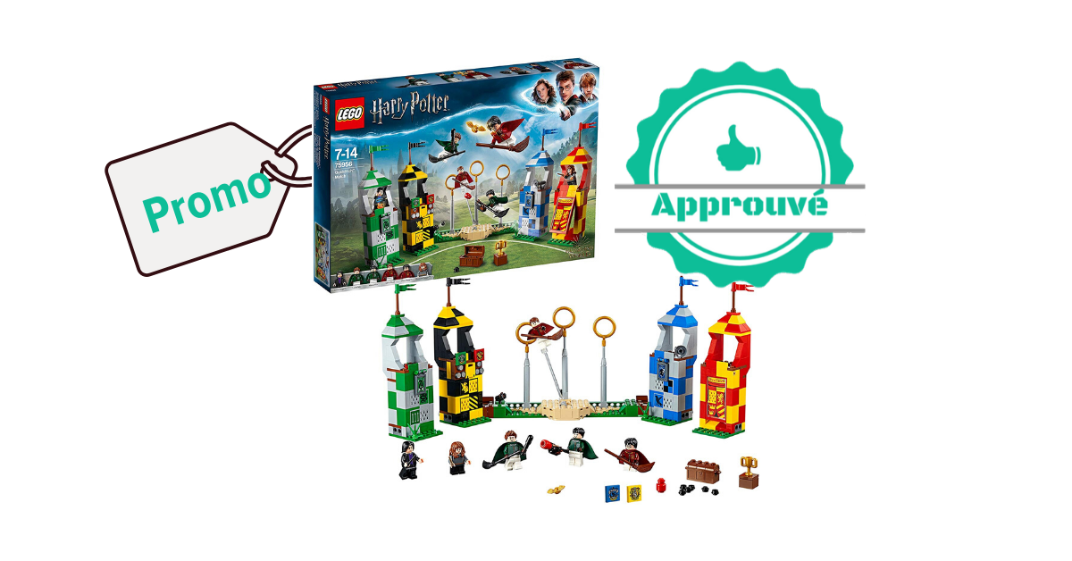 Promo certifiée - Lego Harry Potter Le match de Quidditch