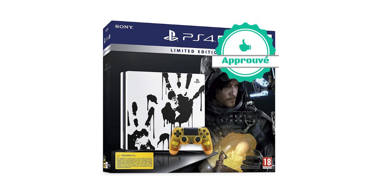 L'alternative certifiée - PS4 Pro 1 To édition spéciale +