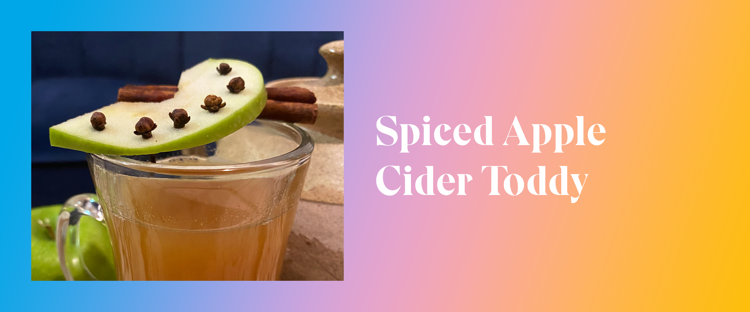 Spiced Apple Cider Toddy