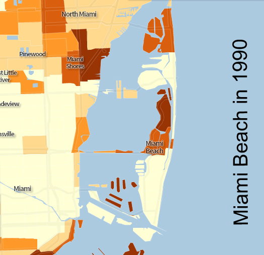 This Map Shows How Miami Beach Used To Be Affordable HuffPost