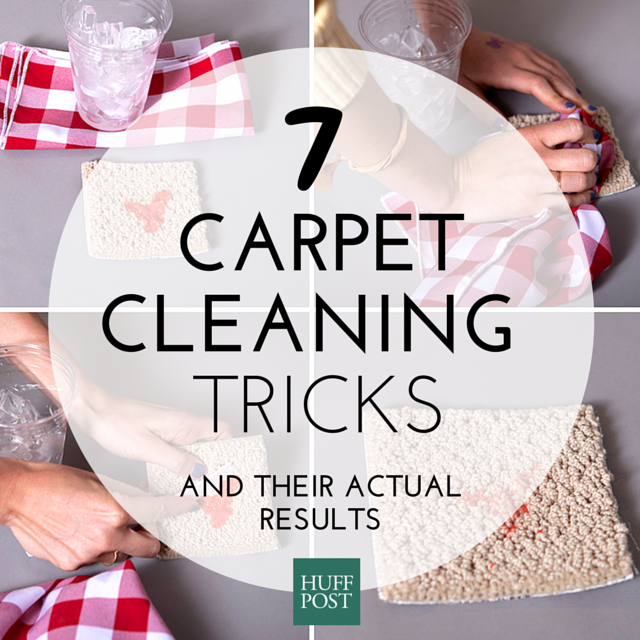 We Tried 7 DIY Carpet-Cleaning Tricks. Here's What