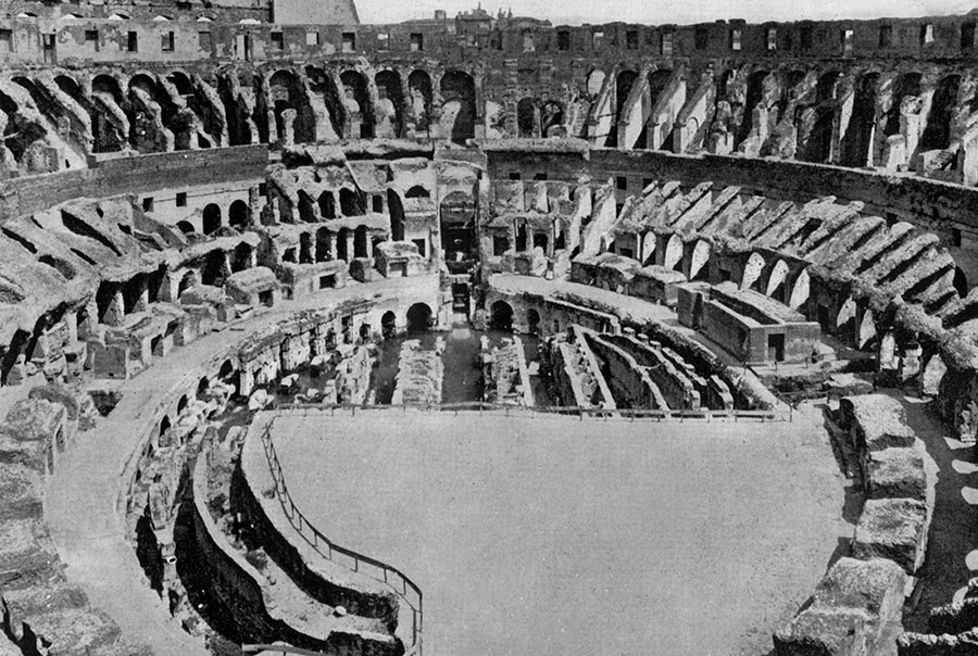 Colosseumbeforeafter_0 on Roman Colosseum Floor Plan