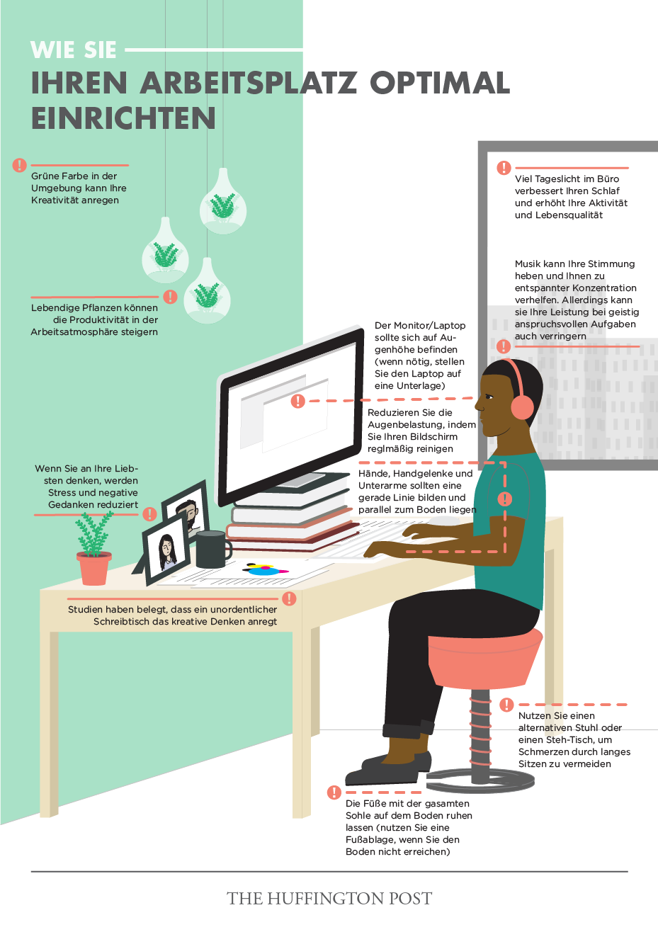 Messy desk study definition