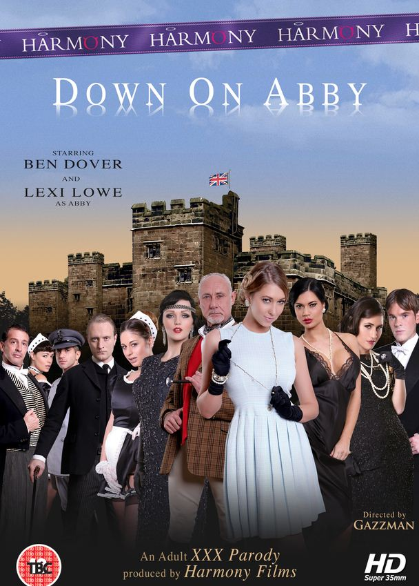downton abbey gets punny porn parody down on abby