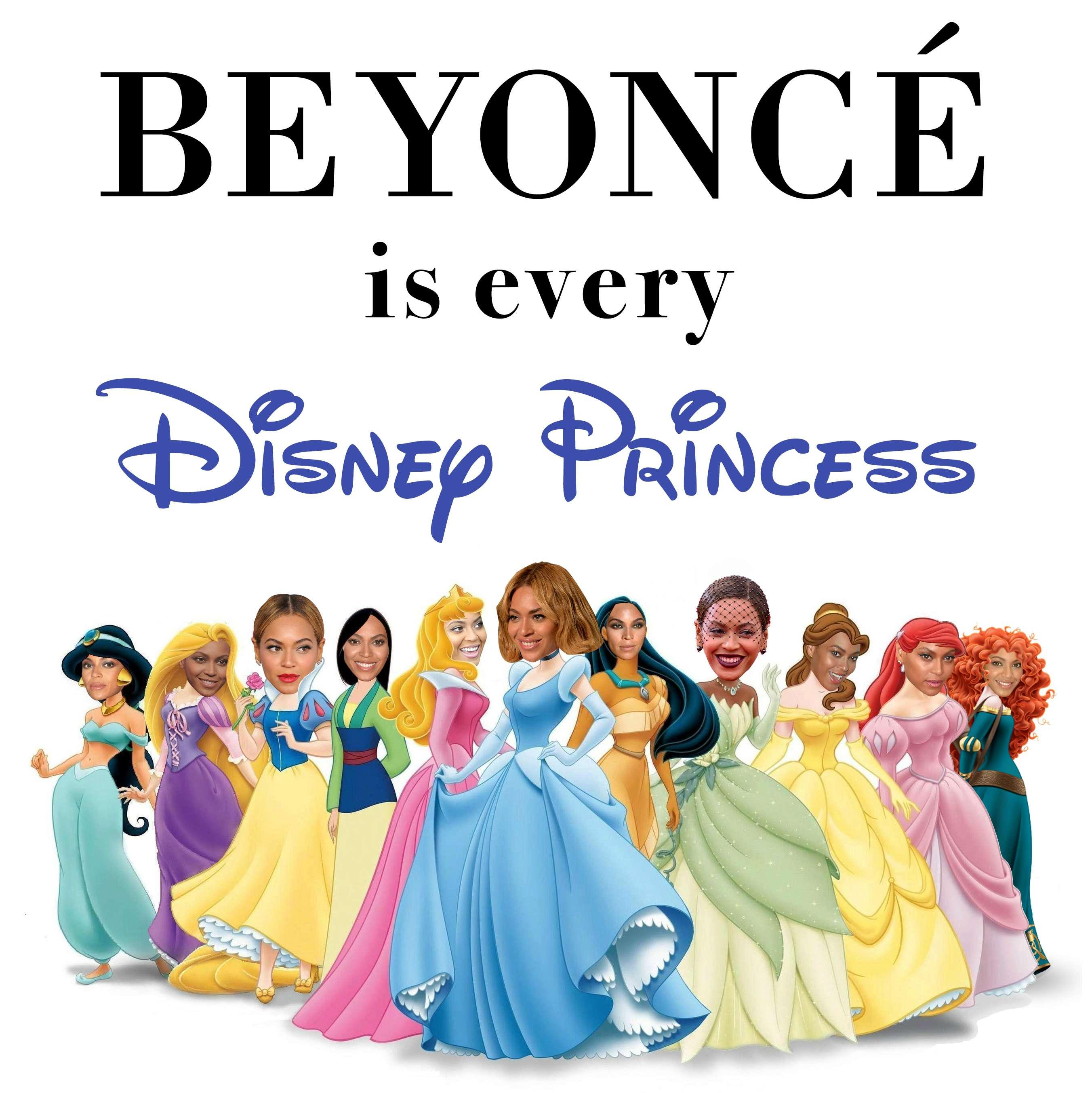 beyonce disney princess