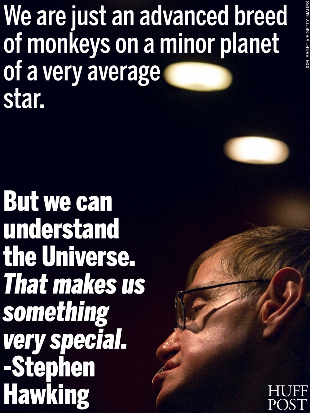 Quotes On Smile These 7 Stephen Hawking Quotes Will Make You Smile  Huffpost