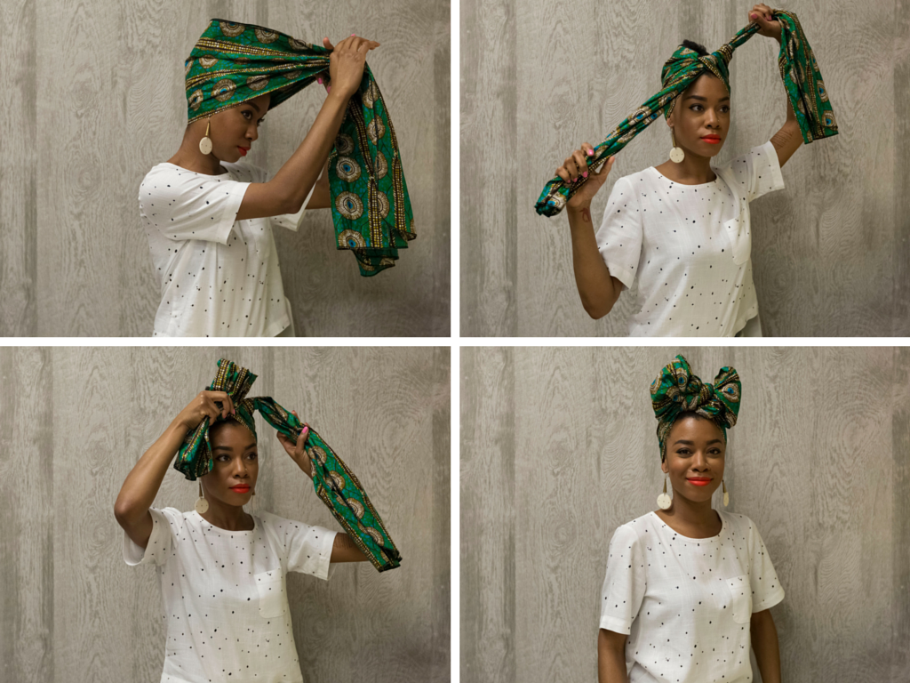 Admirable How To Tie A Headwrap In Four Fabulous Ways The Huffington Post Short Hairstyles Gunalazisus