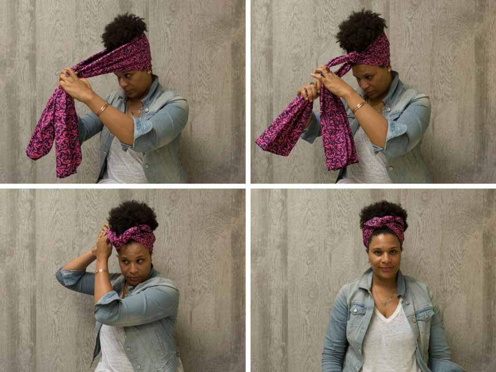 turban headband how to wear
