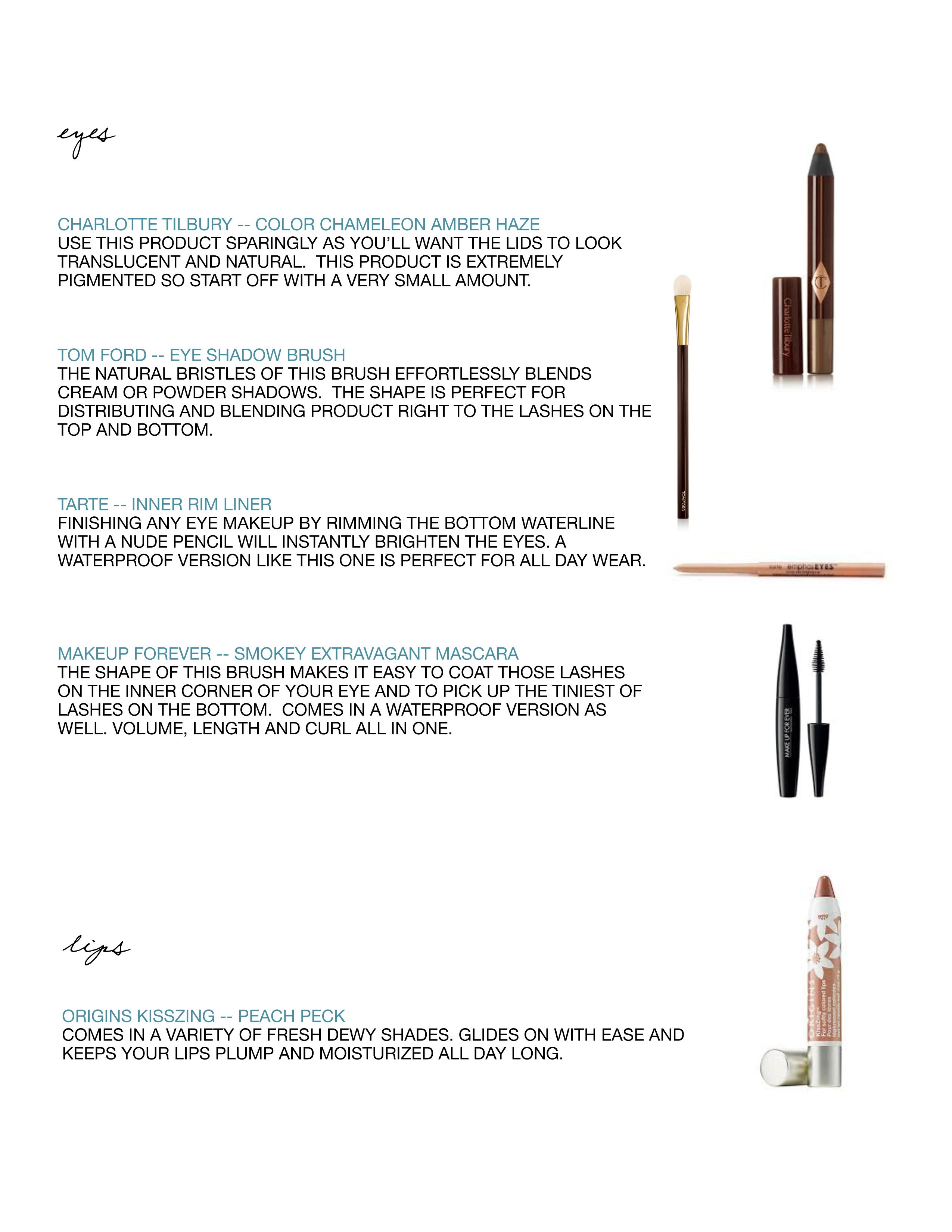 copper makeup