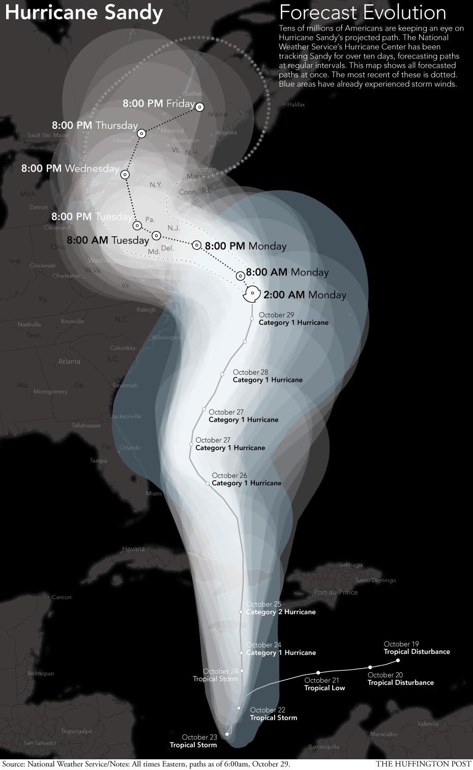 hurricane-sandy-forecast-evolution-map
