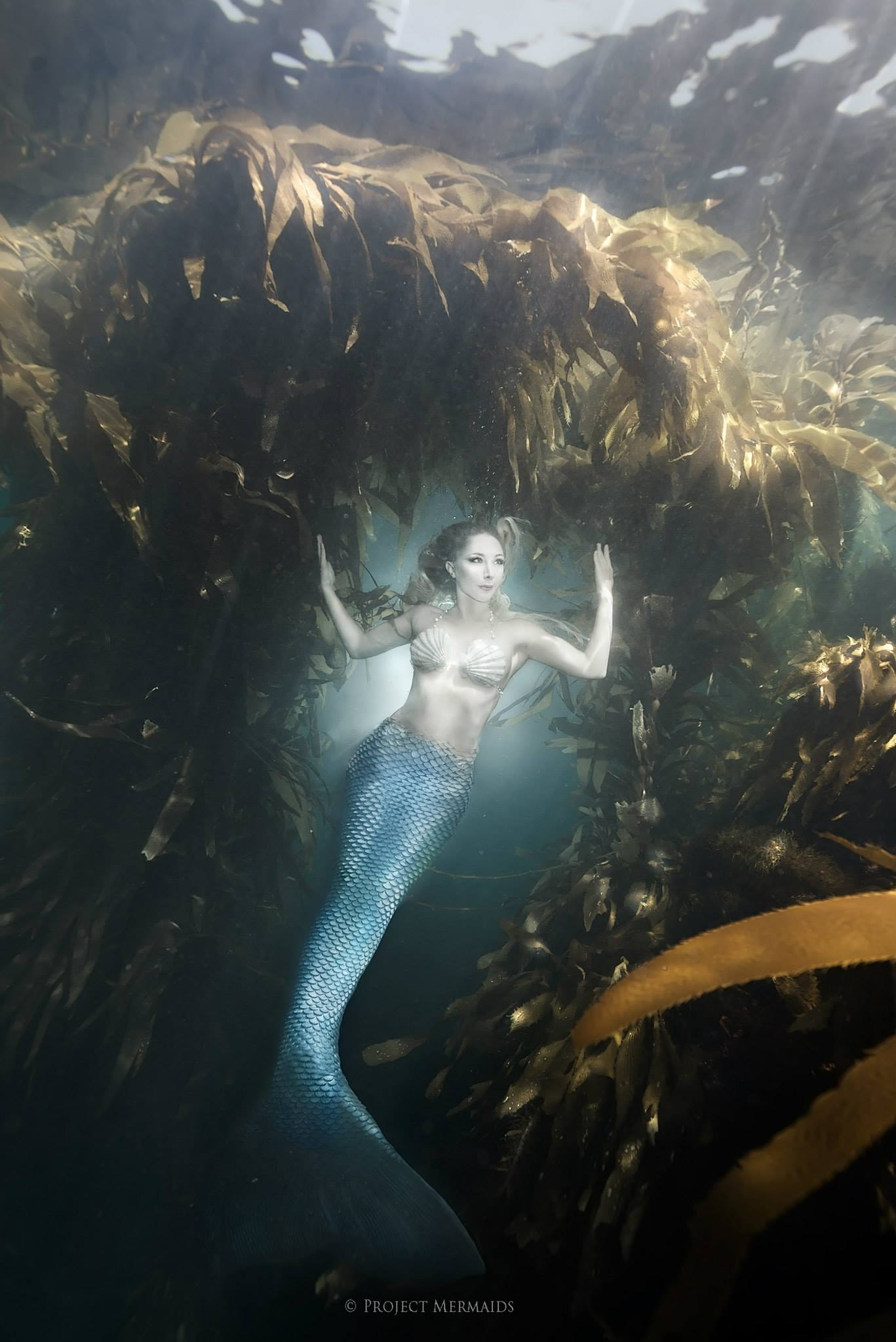 These Enchanting Mermaids Have An Important Message To
