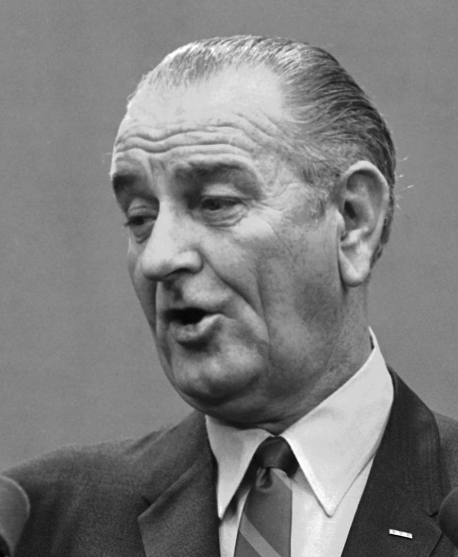 Lyndon b johnson term
