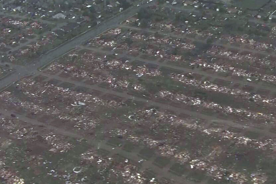Moore, Oklahoma After