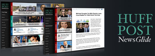 HuffPost NewsGlide for Chrome