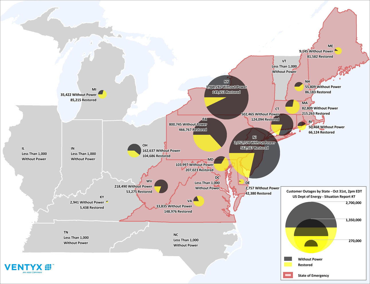 Cl P Power Outage Map.Hurricane Sandy Utility Outages May Be Worsened By Underinvestment