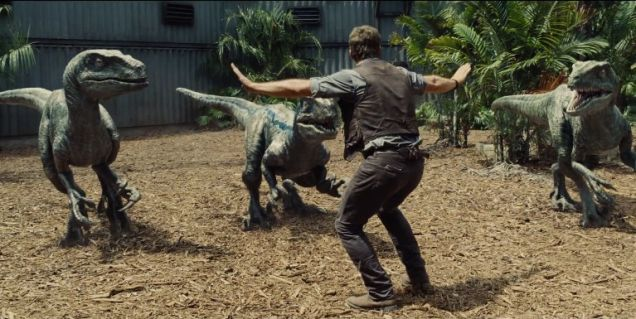 Chris Pratt Recreates 'Jurassic World' Scene At Children's Hospital