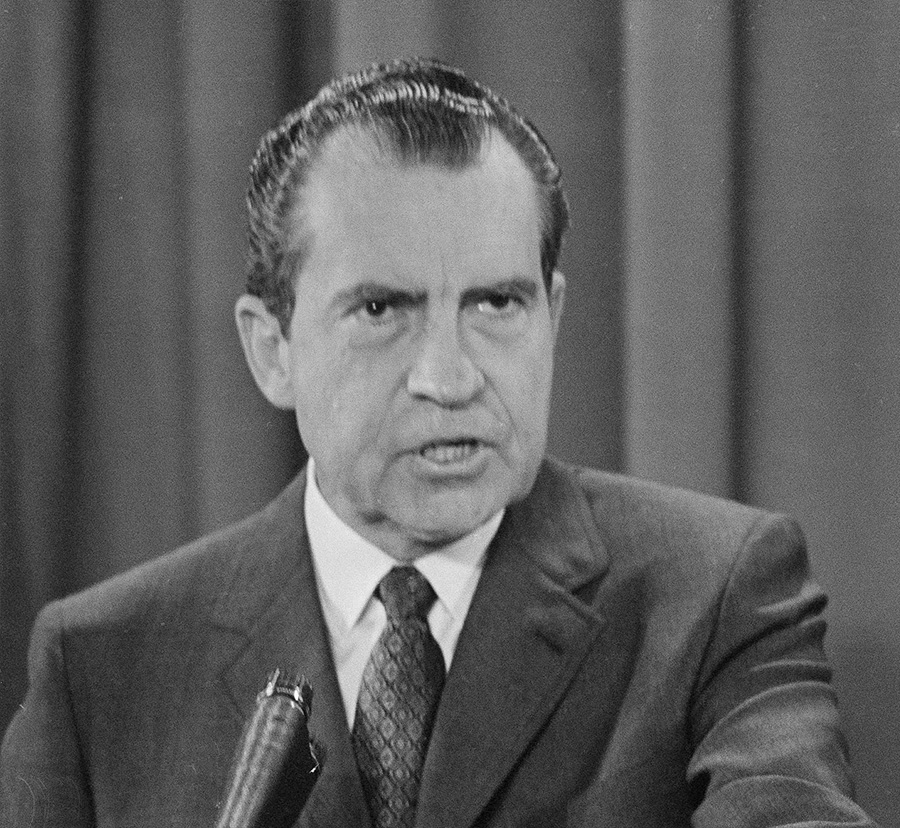an analysis of richard nixon before and after his presidency in the united states Less than a year before richard m nixon's resignation as president of the united states, spiro agnew becomes the first us vice president to resign in disgrace the same day, he pleaded no.