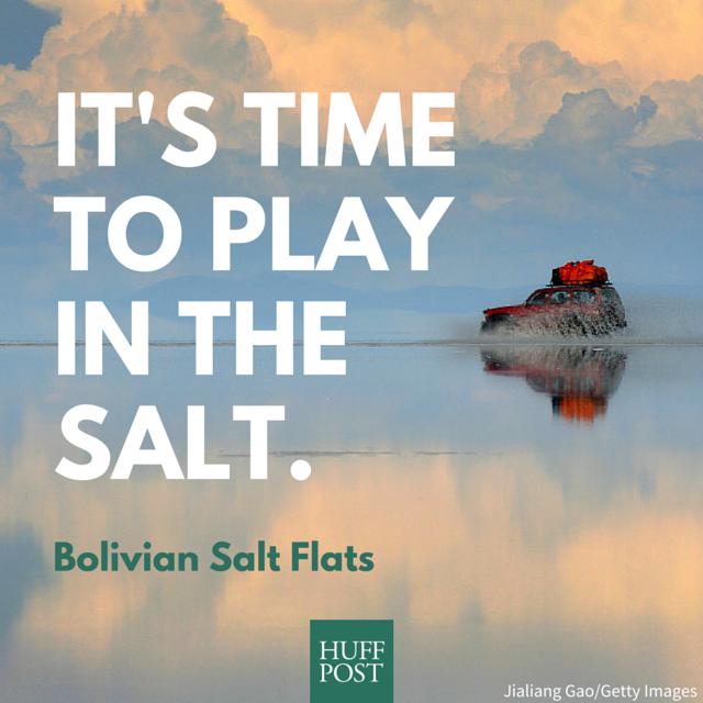 Epic Pictures Of Bolivia's Salt Flats Prove It's A Photographer's