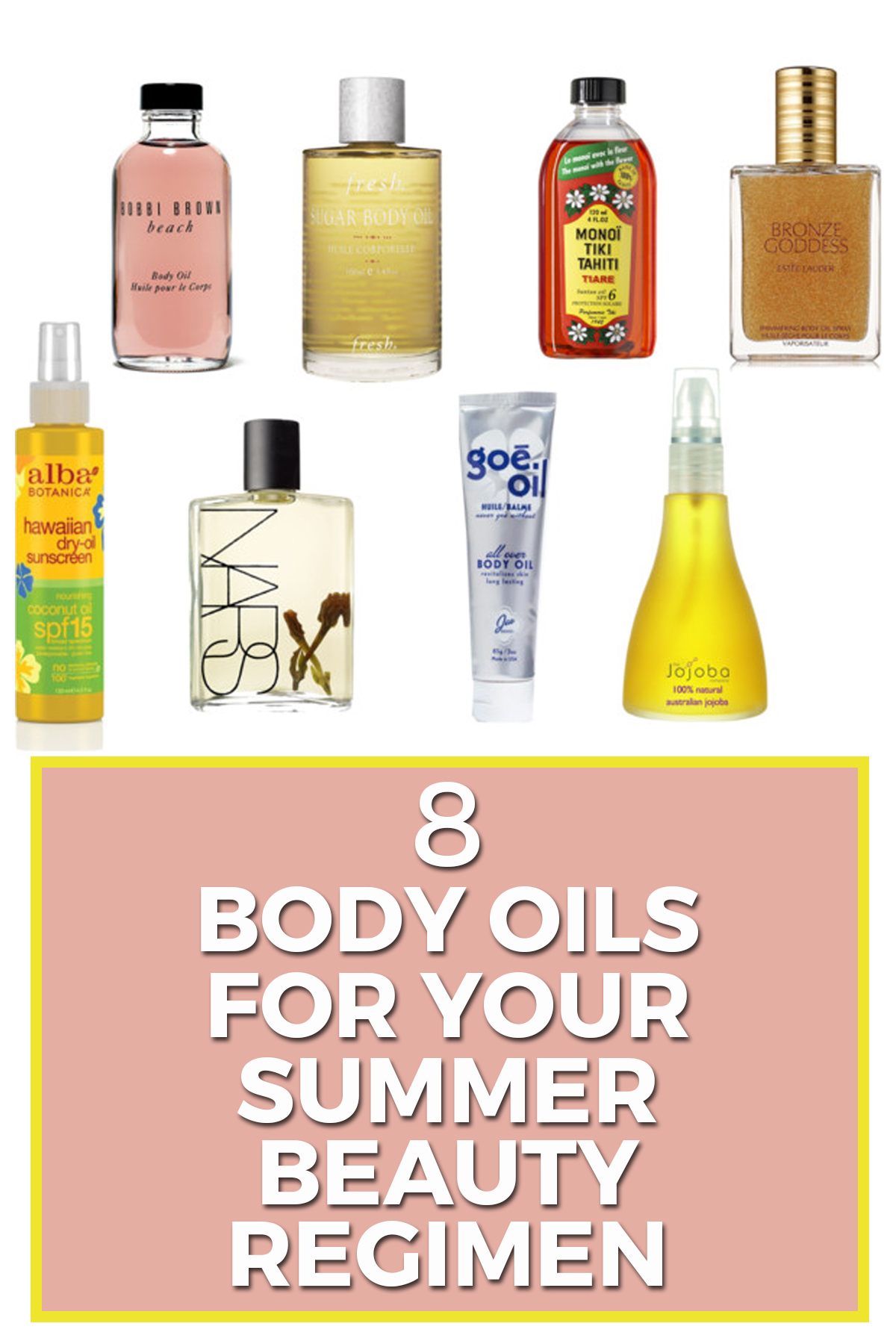 body oils two